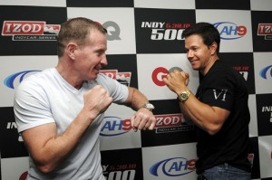 Micky Ward & Mark Wahlberg