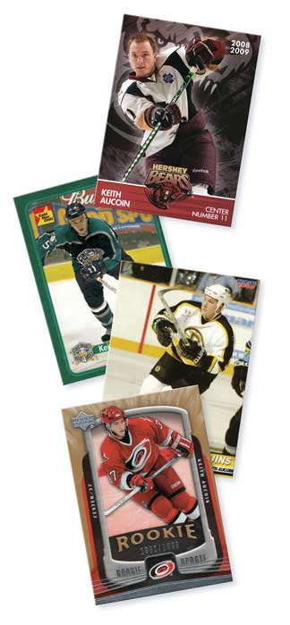 Keith Aucoin Cards
