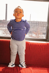 """K'loni is """"a blessing,"""" her parents say. """"She's made us who we are today."""" Photo by Meghan Moore."""