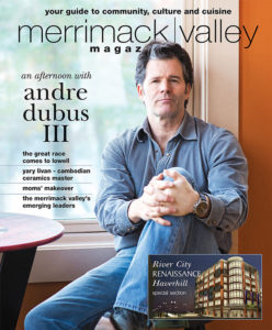 Dubious appeared on the May/June 2014 cover of Merrimack Valley Magazine. Photography by Adrien Bisson.