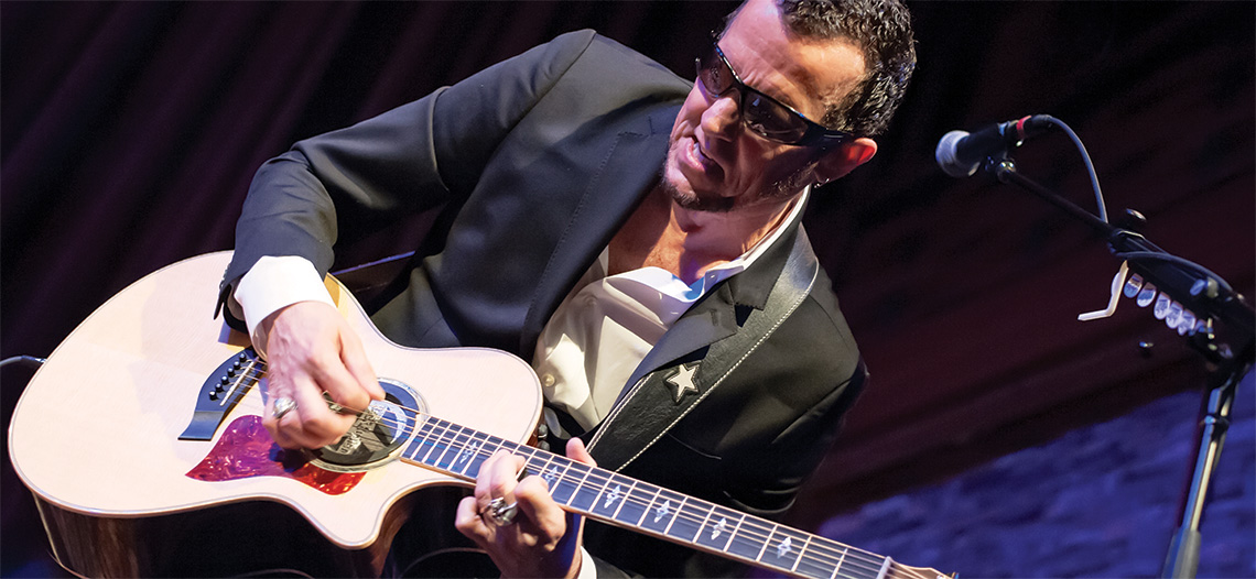 SEVEN: Gary Hoey's Ho Ho Hoey Rockin' Holiday Show at Blue Ocean Music Hall.