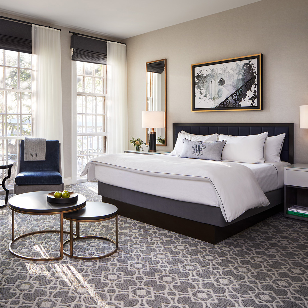 The Whitney Hotel Boston suite